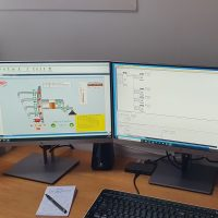 Programmeren PLC met HMI.